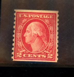 US #453 MINT F-VF OG NH  Cat$300