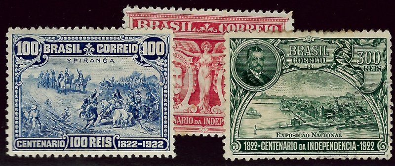 Brazil #260-6 Mint F-VFSCV$19...Pick your price!