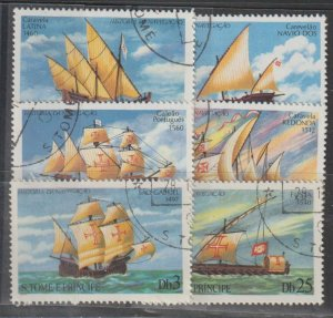 St. Thomas and Prince Islands SC  534-9 Used