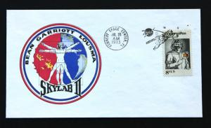 Skylab II 1973 July 28 Launch Cacheted Cover with Kenndy Space Center Cancel.