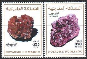 Morocco. 1974. 764-65. Minerals. MNH.