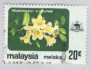Malaysia Malacca 85 Used Rhododendren (BP24319)