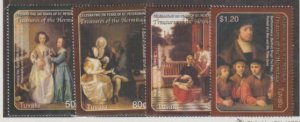 Tuvalu Scott #943-946 Stamps - Mint NH Set