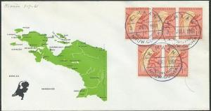 NETHERLANDS NEW GUINEA 1961 cover KIMAAN cds...............................46290