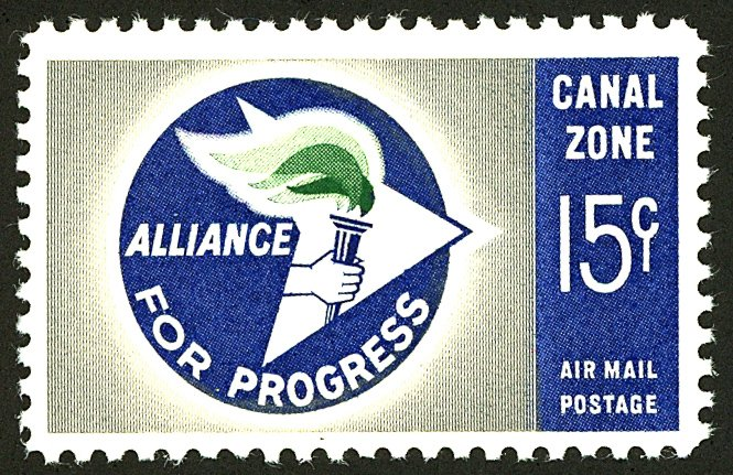 CANAL ZONE #C35 MINT OG NH