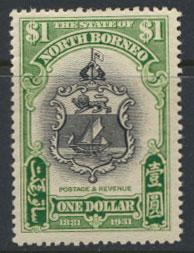 North Borneo  SG 300 SC# 190 MLH    - See scan