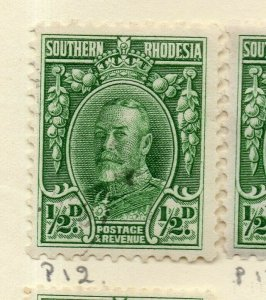 Southern Rhodesia 1920s Early Issue Fine Mint Hinged 1/2d. NW-170459
