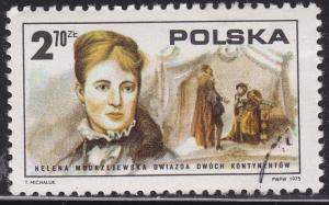 Poland 2119 Helena Modrzejewsla 2.70zł 1975