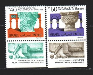 Israel. 1988. 1111u-12u. Archeology artifacts. MNH.