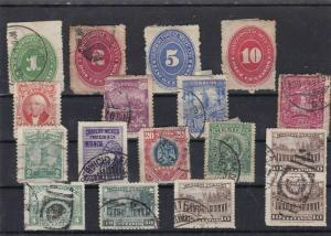 MEXICO MOUNTED MINT AND OR USED  STAMPS ON  STOCK CARD  REF R1046