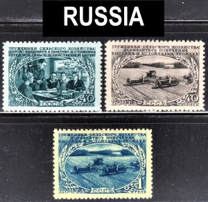 Russia Scott 1469-1471 complete set  F to VF mint OG NH.