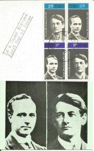 Maximum Card EIRE 1970 Tomas MacCurtain Terence MacSwiney Gaelic League U3796
