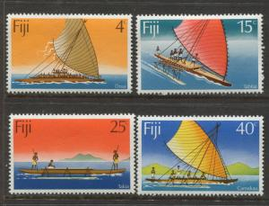 Fiji - Scott 380-383 - General Issue 1977- MNH - Set of 4 Stamps