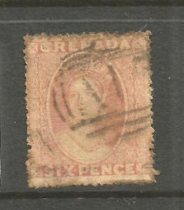 GRENADA  1861   6d     QV   FU    SG 3