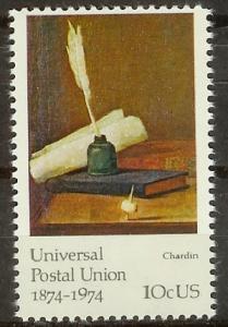 1535 Universal Postal Union Issue F-VF MNH single
