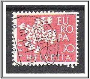 Switzerland #410 Europa Used