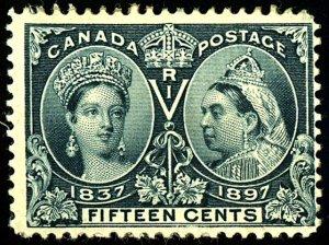 Canada #58 MINT OG HR