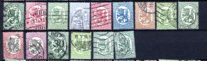 Finland Lot Set Collection 1917-1931 Used