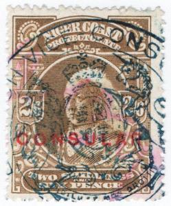 (I.B) Niger Coast Revenue : Consular 2/6d
