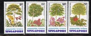 Singapore # 243-6, Mint Never Hinge. CV $ 12.05