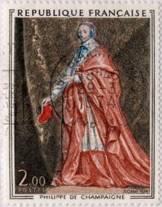 FRANCE - 1972 - Yv.1732/Mi.1867 2fr Ph. de Champaigne, Richelieu - Oblitéré TB