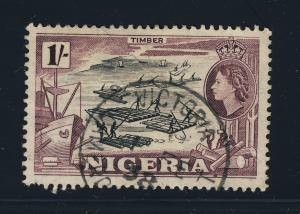 NIGERIA - 1958 - SG76 CANCELLED VICTORIA / CAMEROONS UUKT.  CDS