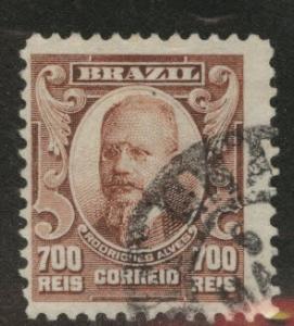 Brazil Scott 184 used 1906 stamp
