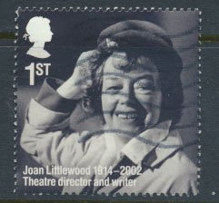 Great Britain SG 3587 Sc# 3277  Used  Joan Littlewood