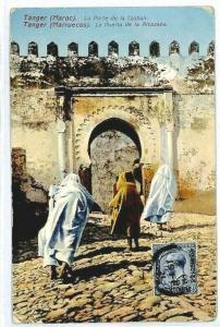MOROCCO AGENCIES TANGIER Postcard Kasbah {samwells-covers} CW266