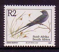 South Africa Birds Blue Swallow issue 1997 SG#818c
