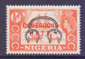 Cameroon SG T1, 1960 UKTT Overprint 1/2d MNH**