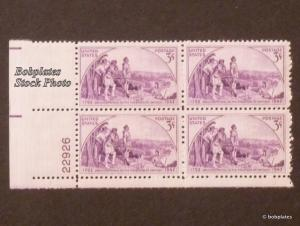 BOBPLATES US #904 Kentucky Lower Left Plate Block 22925 F-VF NH SCV=$1.75
