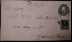O) 1900 CIRCA , GUINES, SPANISH ANTILLES, COLON- COLUMBUS, POSTAL STATIONERY - S