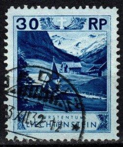 Liechtenstein #99 F-VF Used CV $10.50   (X730)