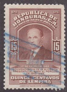 Honduras C174 Vice President Don Julio Lozano 1949