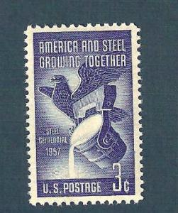 1090 Steel Industry US Single Mint/nh (Free Shipping)