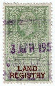 (I.B) George VI Revenue : Land Registry 1/6d