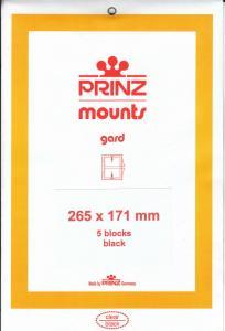PRINZ BLACK MOUNTS 265X171 (5) RETAIL PRICE $13.50