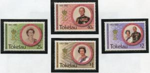 TOKELAU SCOTT#186/89  MINT NH  AS SHOWN