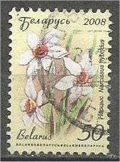 BELARUS, 2008, used 50r, Flowers Scott