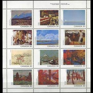 CANADA 1982 - Scott# 966a S/S Canada Day NH