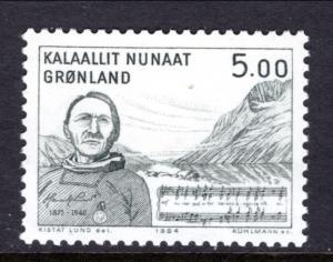 Greenland 159 Music MNH VF