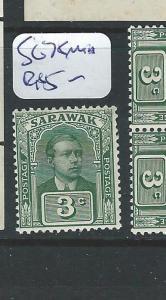 SARAWAK (P1401B) BROOKE 3C SG 78   MNH
