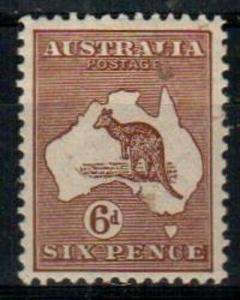 Australia Scott 96 Mint hinged VF (Catalog Value $35.00)