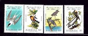 Barbuda 701-04 MNH 1985 Birds   #2