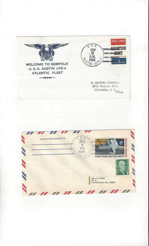 US Navy Covers USS Austin LPD 4