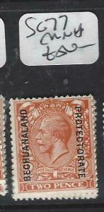 BECHUANALAND  (PP1904B)  KGV ON GB 2D     SG  77      MNH