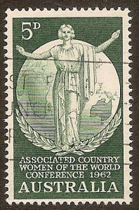 Australia Scott # 347 used. Free Shipping for All Additional Items