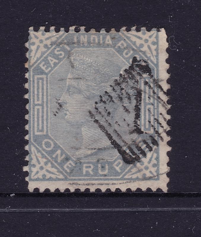 India an 1882 QV 1R used