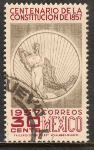 MEXICO 901, Centenary of the Mexican Constitut. Used. F-VF. (834)